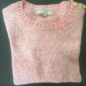 Adorable baby pink sweater